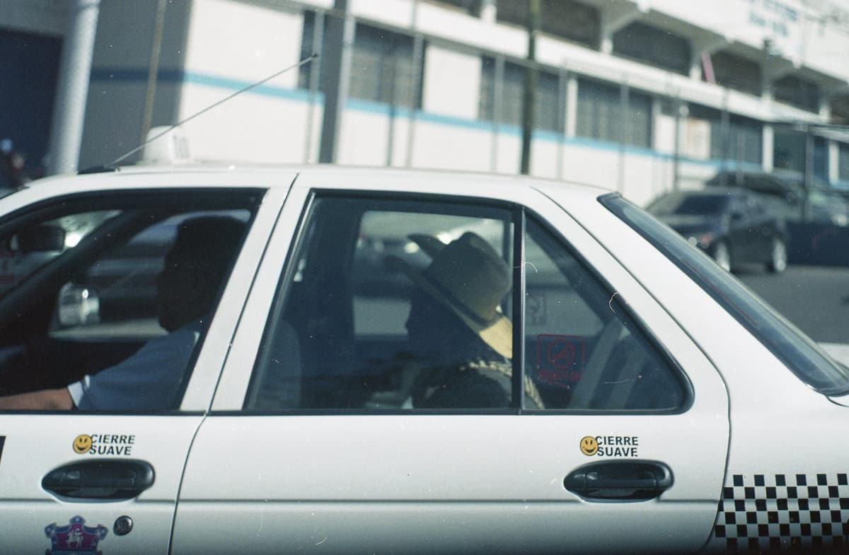 Taxi en Ciudad de Guatemala
