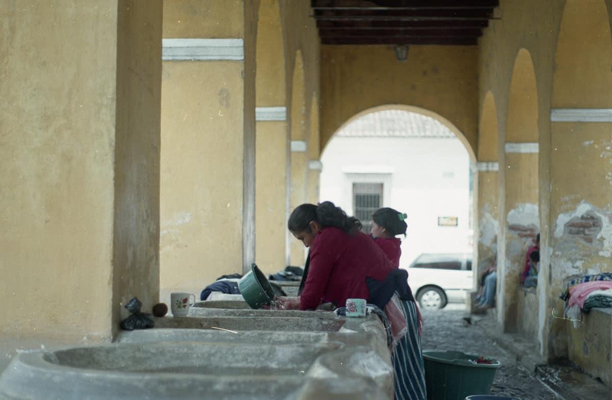 Lavaderos en Antigua Guatemala,