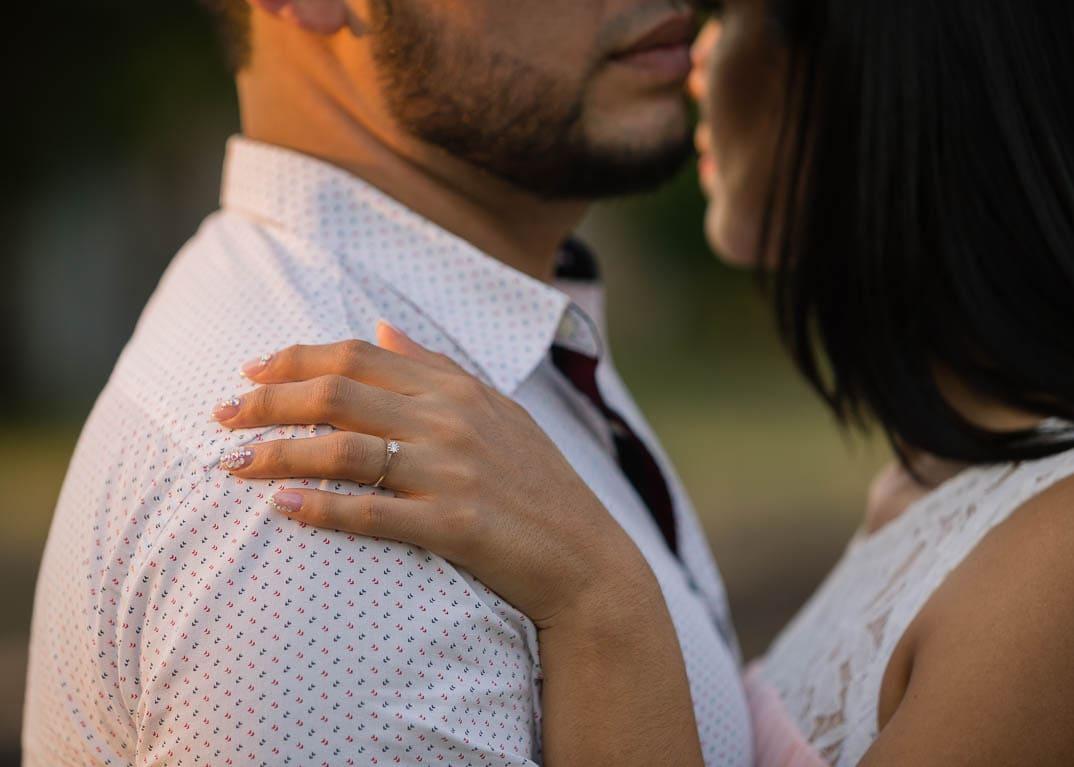 Engagement photo shoot by Edgar Ipiña