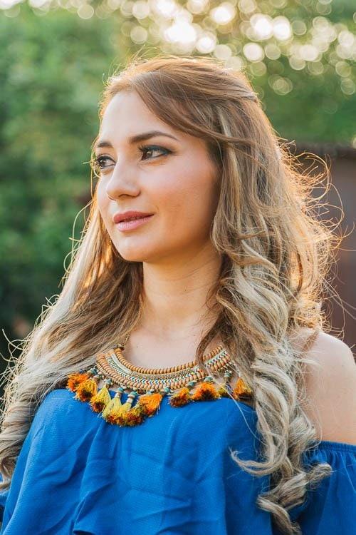 Karla Duarte by Edgar Ipiña