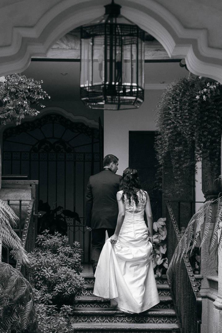Boda en Antigua - El amor en la ciudad