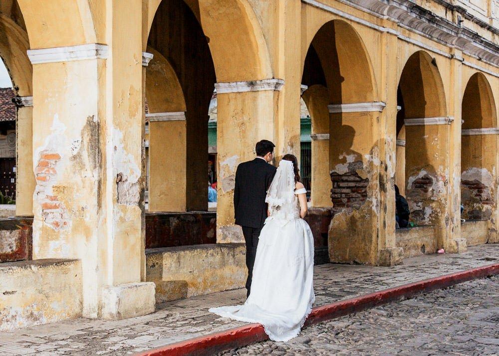 Retratos de amor en Antigua Guatemala