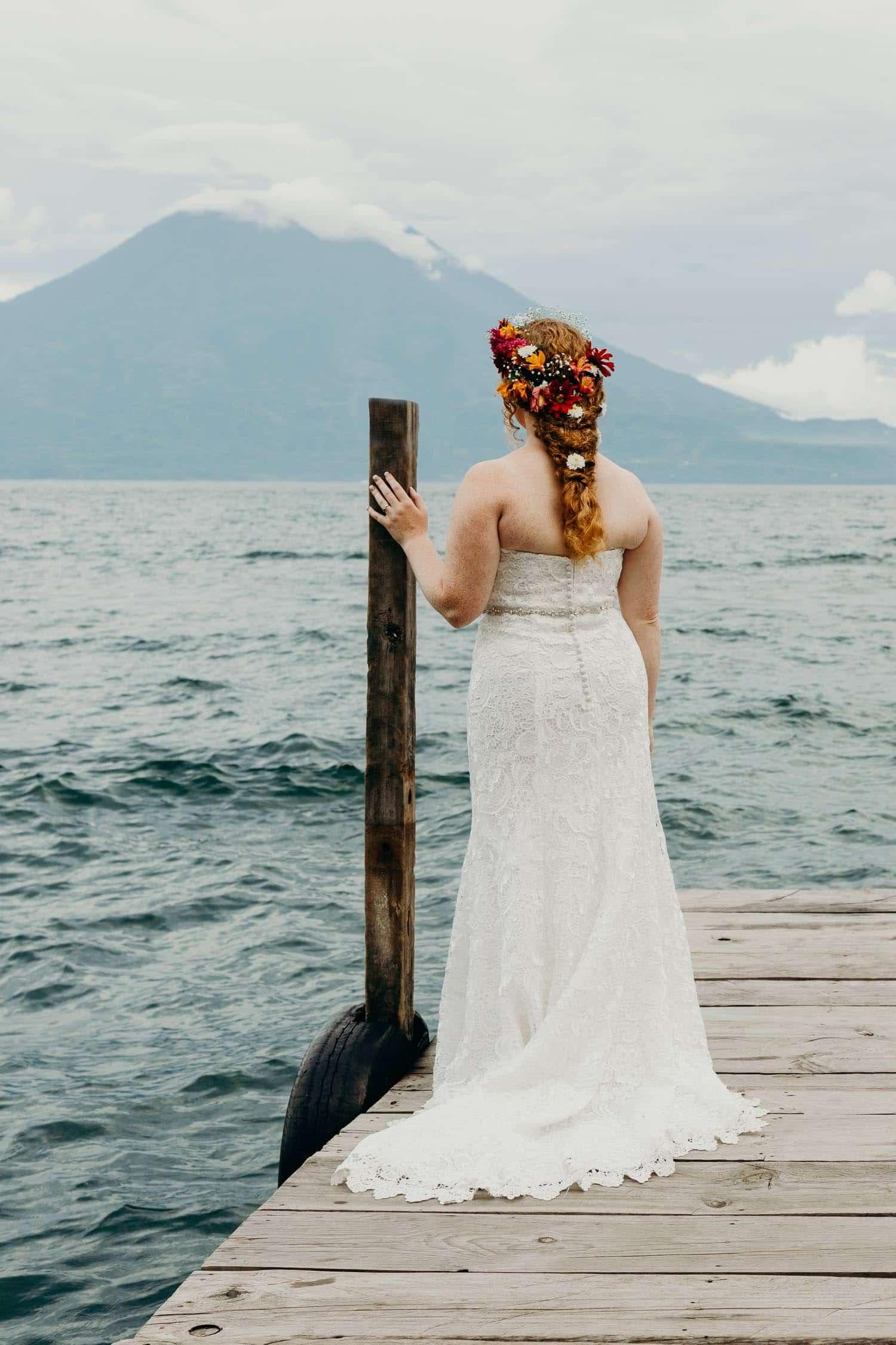 Boda en Lago de Atitlán