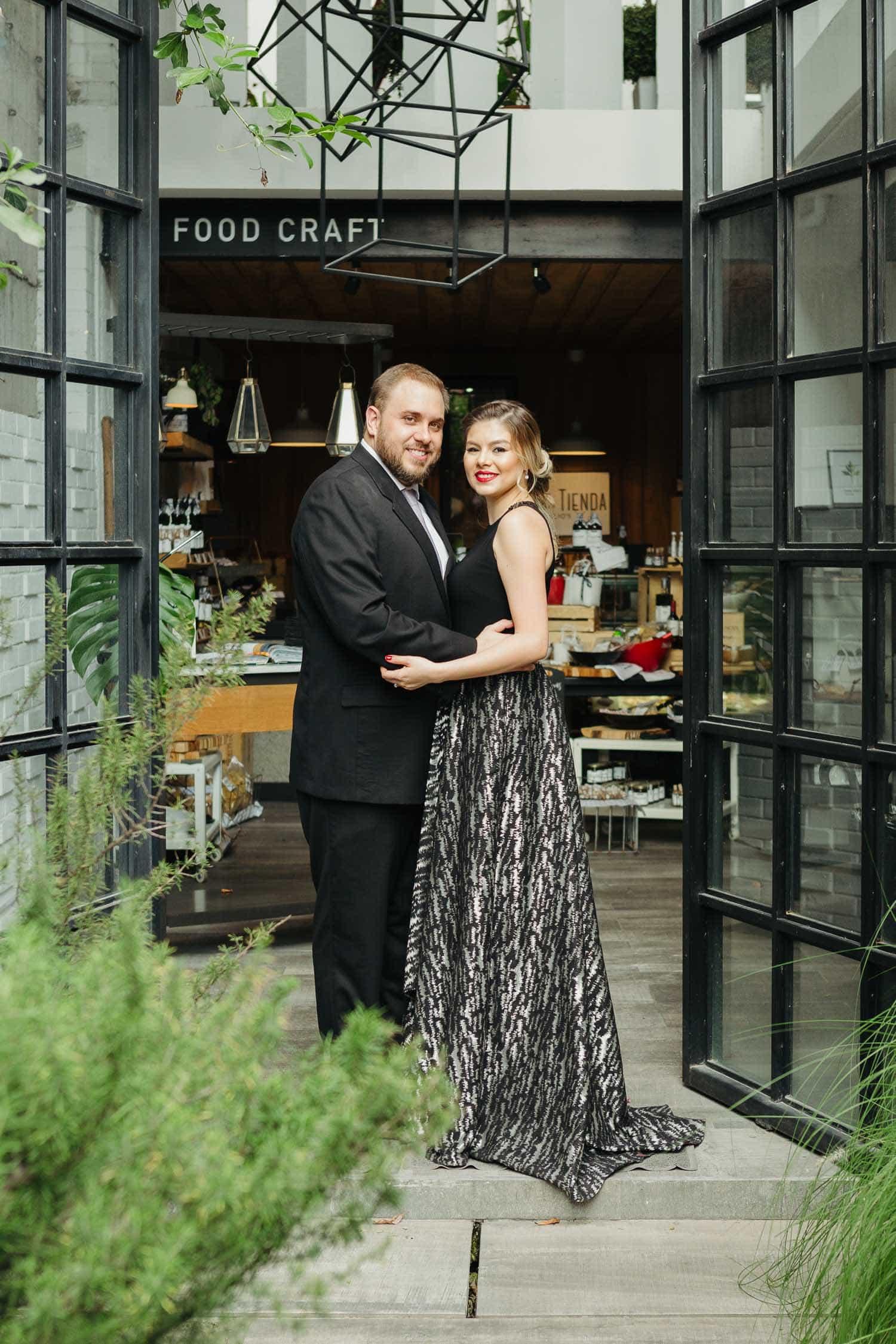 Boda civil en Clio's Food Craft