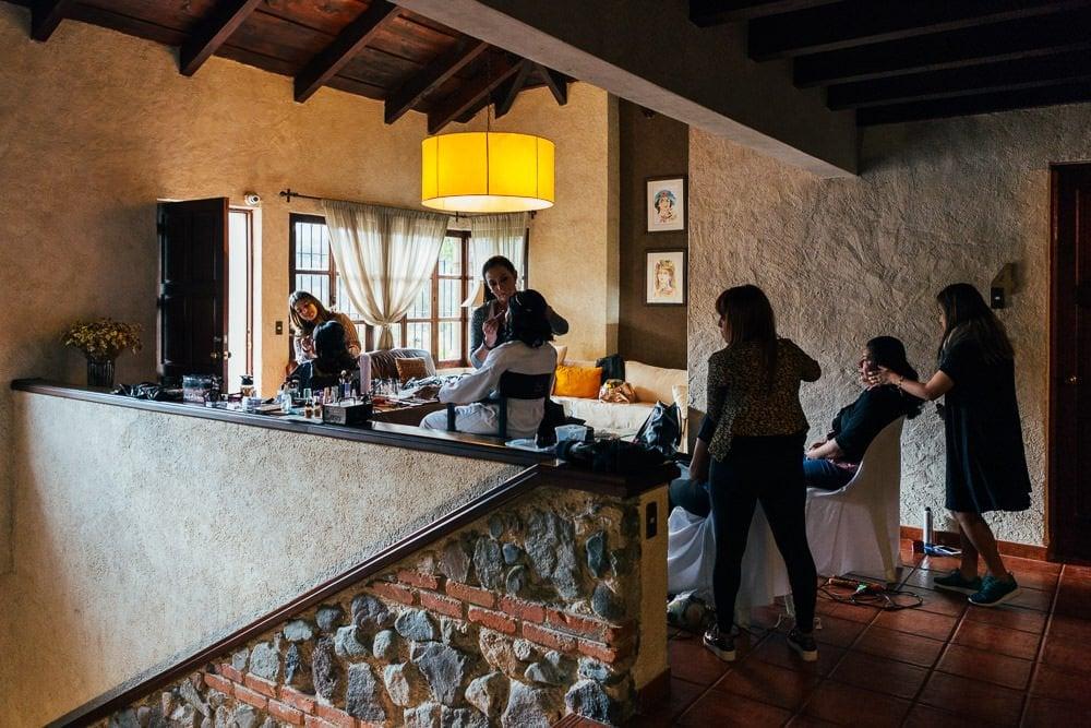 Boda hotel Casa Santa Ines